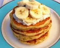 Очень ароматные банановые блинчики