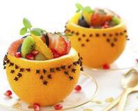 Фруктовий салат в апельсинових чашечках id1957091504