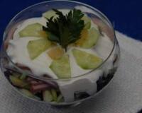 Неймовірно смачний і красивий салат!